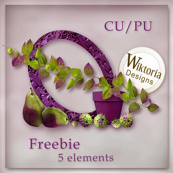 CU/PU Pack nature WiktoriaDesigns_CommercialUse_freebie6_preview